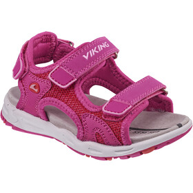 Viking Footwear Anchor II Sandals Kids Magenta/Red